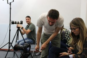 Recitazione Cinematografica - backstage foto